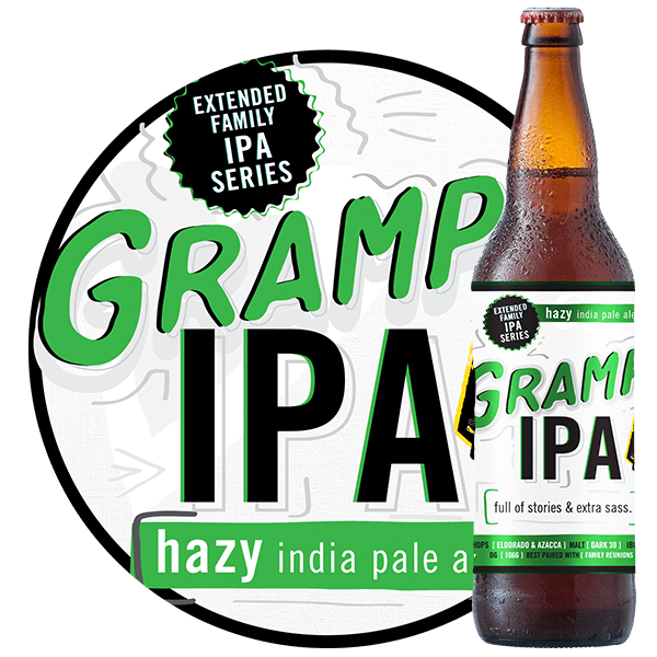 Gramps IPA - by Iron Horse Brewery