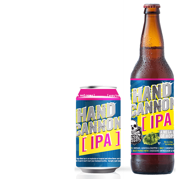 Hand Cannon - by Iron Horse Brewery