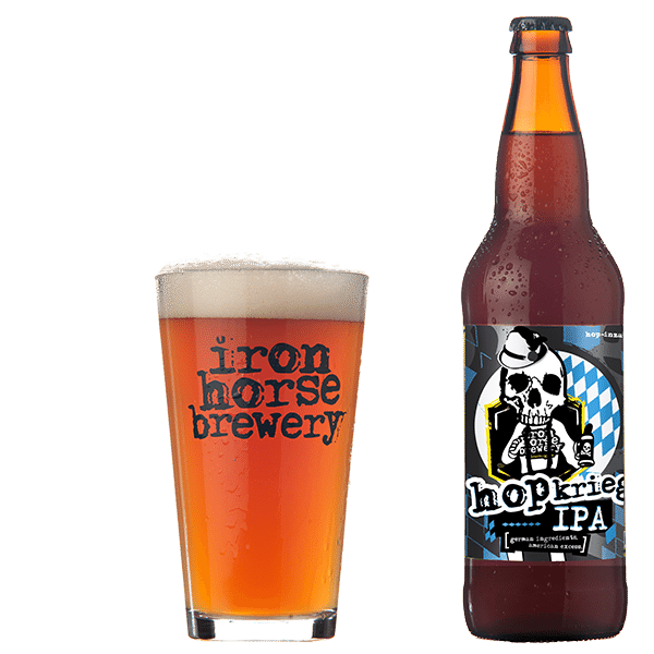HopKrieg - by Iron Horse Brewery