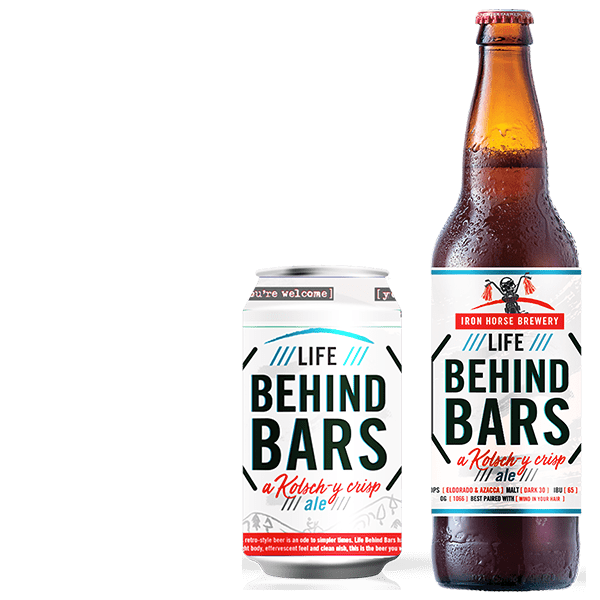 Life Behind Bars - by Iron Horse Brewery