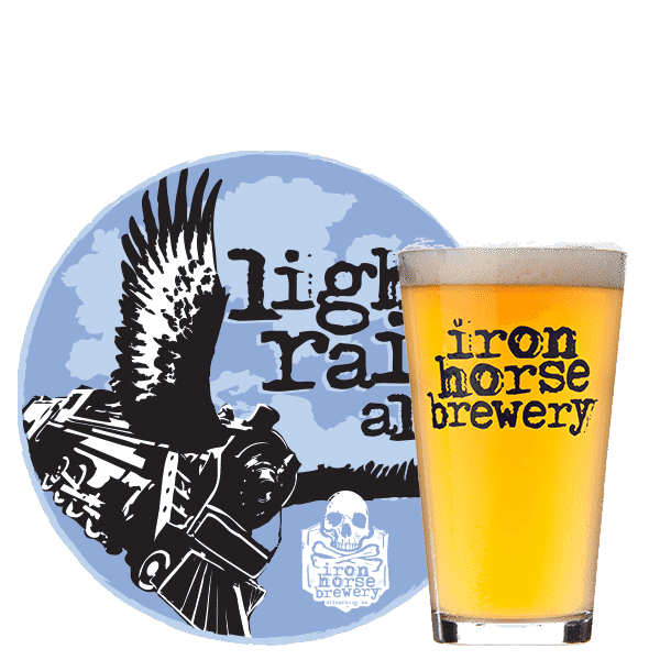 Light Rail Ale - by Iron Horse Brewery