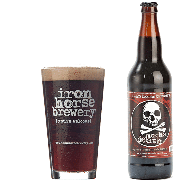 Mocha Death - by Iron Horse Brewery